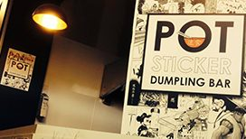 Pot Sticker Dumpling Bar