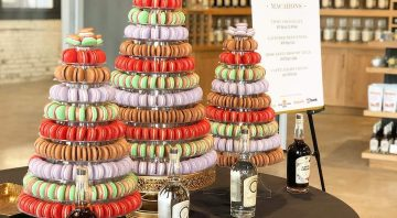 Party Pastries Macarons